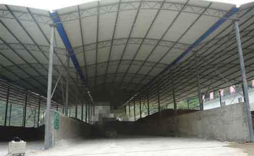 大型钢结构彩钢棚